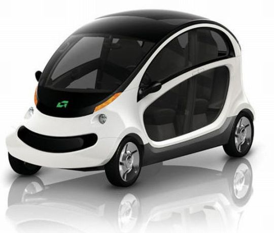 Pea Pod Electric Car