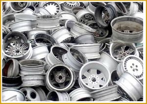 Scrap Car Aluminum Rims