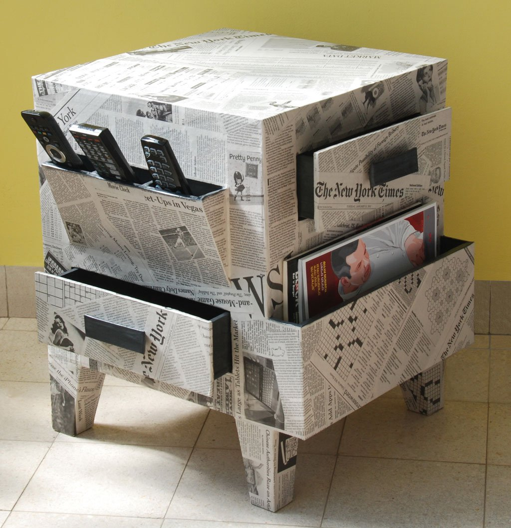 Incroyable Exciting Cardboard Furniture