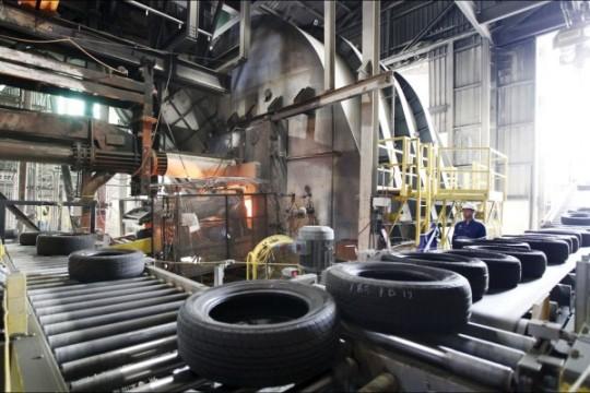 Cement-plant-tire-fuel