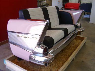 Vintage Pink Caddilac