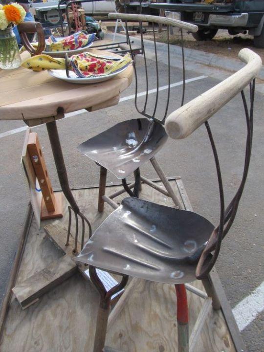 Shovels, Pitchforks and Wooden Handles!