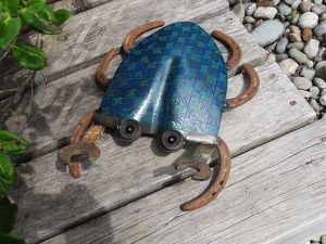 Blue Crab -Shovel and Horse Shoes
